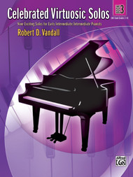 ALfred Celebrated Virtuosic Solos, Book 3