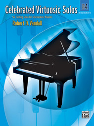 Alfred Celebrated Virtuosic Solos, Book 4