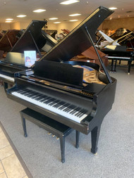 "Kawai KG2C 5'10"" Ebony Satin Grand Piano with Bench"