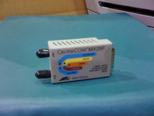 Allied Telesis AT-MX26F Fiber Transceiver ST Connector, Used