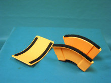 "Newton 00252300CA Vertical O/S Down Elbow 2"" x 2"". New / ORANGE"