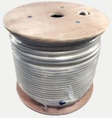 TXM LOW400P Plenum White Low Loss Coax Cable 500' Reel - LMR®-400P Equiv