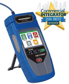 Platinum Tools Net Chaser TNC950AR Ethernet Speed Certifier & Network Tester