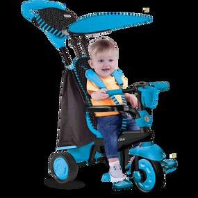 smarTrike® Spark 4-in-1  Baby Dreirad  - Blau