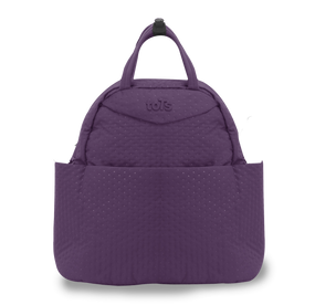 toTs® Infinity Tasche 5-in-1 - Lila Quilt
