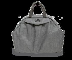 toTs® Wickeltaschen Chic Style - Dark Grau Mélange
