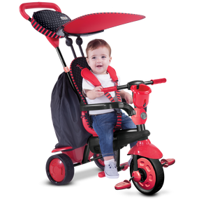 smarTrike® Spark 4-in-1 Baby Dreirad - Rot