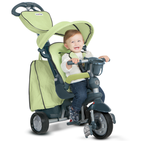 Explorer 5-in-1 Baby Dreirad - Grün