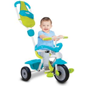 smarTrike® Play GL 3-in-1 Baby Dreirad - Blau