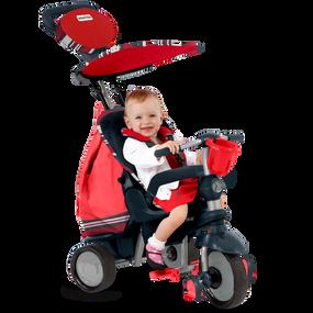 Dazzle 5-in-1 Baby Dreirad - Rot