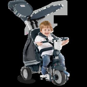 smarTrike® Dazzle 5-in-1 Baby Dreirad - Grau