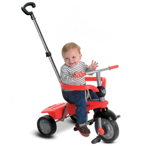 smarTrike® Breeze GL 3-in-1 Baby Dreirad - Rot