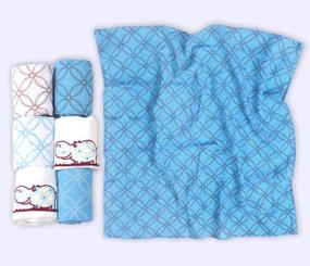 toTs® 6er Pack Mulltücher - Blau