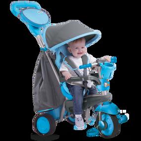 smarTrike® Swing 4-in-1 Baby Baby Dreirad - Blau