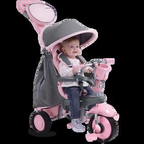 smarTrike® Swing 4-in-1 Baby Dreirad - Pink