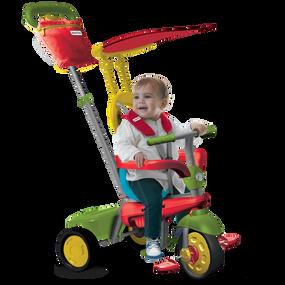 smarTrike® Joy 4-in-1 Baby Dreirad - Multicolor