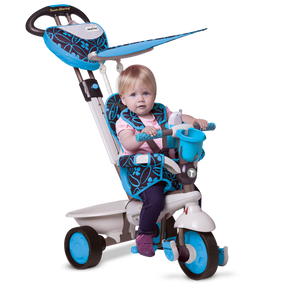 smarTrike® Dream 4 in 1 Baby Dreirad - Blau