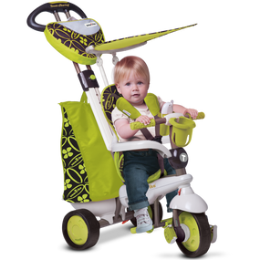 smarTrike® Dream 4-in-1 Baby Dreirad - Green