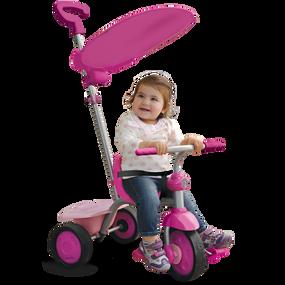 Fun 2-in-1 Baby Dreirad - Pink