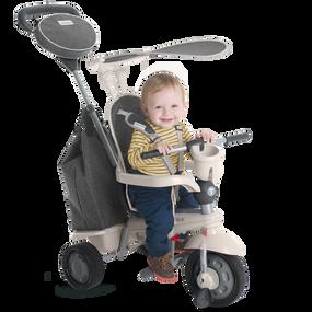 smarTrike® Voyage 4-in-1 Baby Dreirad - Grau