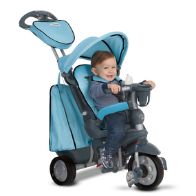 Explorer 5-in-1 Baby Dreirad - Blue