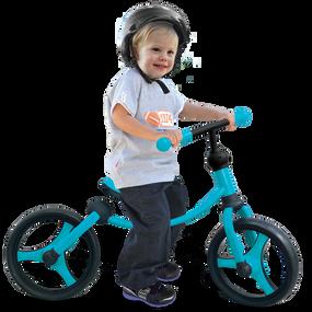 Running Bike – 2-in-1 - Türkis / Schwarz