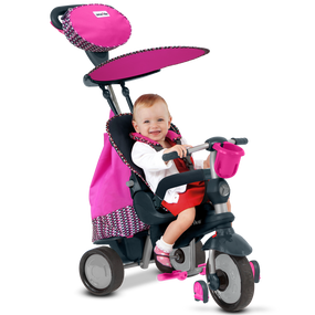 Splash 5-in-1 Baby Dreirad - Pink