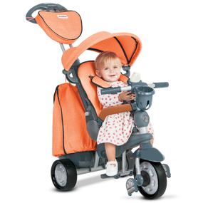 Explorer 5-in-1 Baby Dreirad - Orange