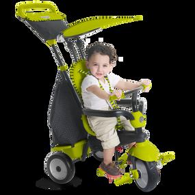 smarTrike® Glow 4-in-1 Baby Dreirad - Grün