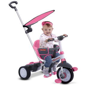 Fisher-Price Charm Plus 3-in-1 Baby Dreirad - Pink