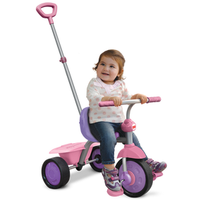 Fisher Price Glee 2-in-1 Baby Dreirad - Pink / Lila