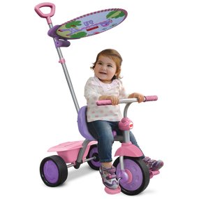 Fisher-Price Glee Plus 2-in-1 Baby Dreirad - Lila / Pink