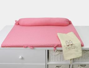 toTs® Joy Wickelmatte - Rabbits Pink