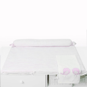 toTs®  Classic Wickelmatte - Classic Pink