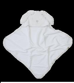 toTs® Joy Kapuzenbadetücher - Classic Weiß