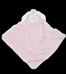 toTs® Joy Kapuzenbadetücher - Classic Pink