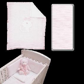 toTs® Classic Jersey Bett-Set - Pink