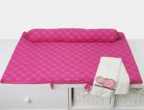 toTs® Joy Wickelmatte - Hippo Pink