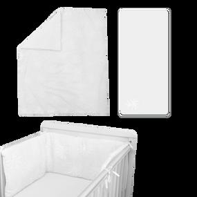 toTs® Pure White Bettwäsche Sets