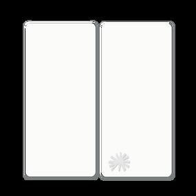 toTs®  Pure White 2er Pack Spannbettlaken