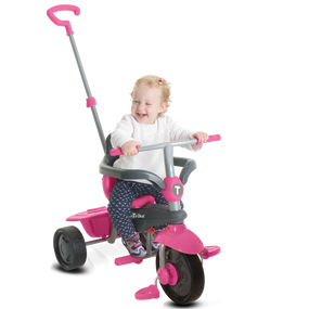 smarTrike® Breeze GL 3-in-1 Baby Dreirad - Pink