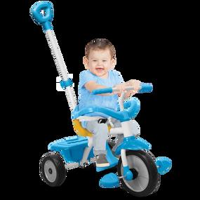 smarTrike® Play 3-in-1 Baby Dreirad - Blau / Gelb / Weiß