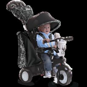 Chic 4-in-1 Baby Dreirad -Schwarz / Weiß