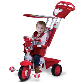 Fisher-Price Royal 3-in-1 Baby Dreirad - Rot / Dark Rot