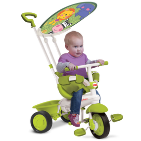 Fisher-Price Classic Plus 3-in-1 Baby Dreirad - Grün