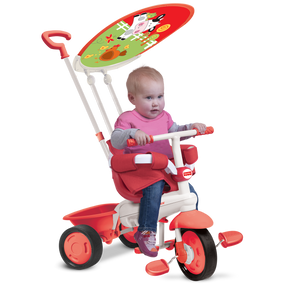 Fisher-Price Classic Plus 3-in-1 Baby Dreirad - Rot