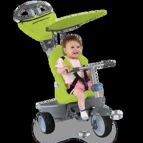Recliner 4-in-1 Baby Dreirad - Grün