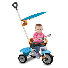 Fisher-Price Jolly Plus 3-in-1 Baby Dreirad - Blau - Orange