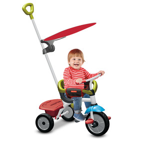 Fisher-Price Jolly Plus 3-in-1 Baby Dreirad - Grün - Rot - Weiß