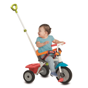 Fisher-Price Jolly 3-in-1 Baby Dreirad - Grün - Rot - Weiß